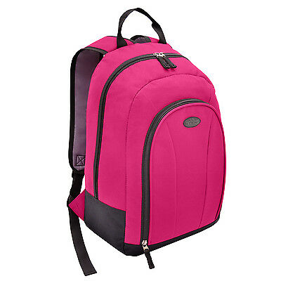 "US Traveler 17"" Carry-on Hot Pink Lightweight Backpack Luggage Travel Bag"