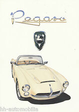 Pegaso Spyder Z 103 Replica Serra IAD Prospekt 1991 brochure Autoprospekt PKWs