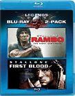 Rambo First Blood Rambo The Fight Continues 2 Discs 2010 Blu Ray
