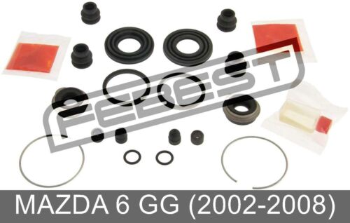 Rear Brake Caliper Repair Kit For Mazda 6 Gg 2002-2008