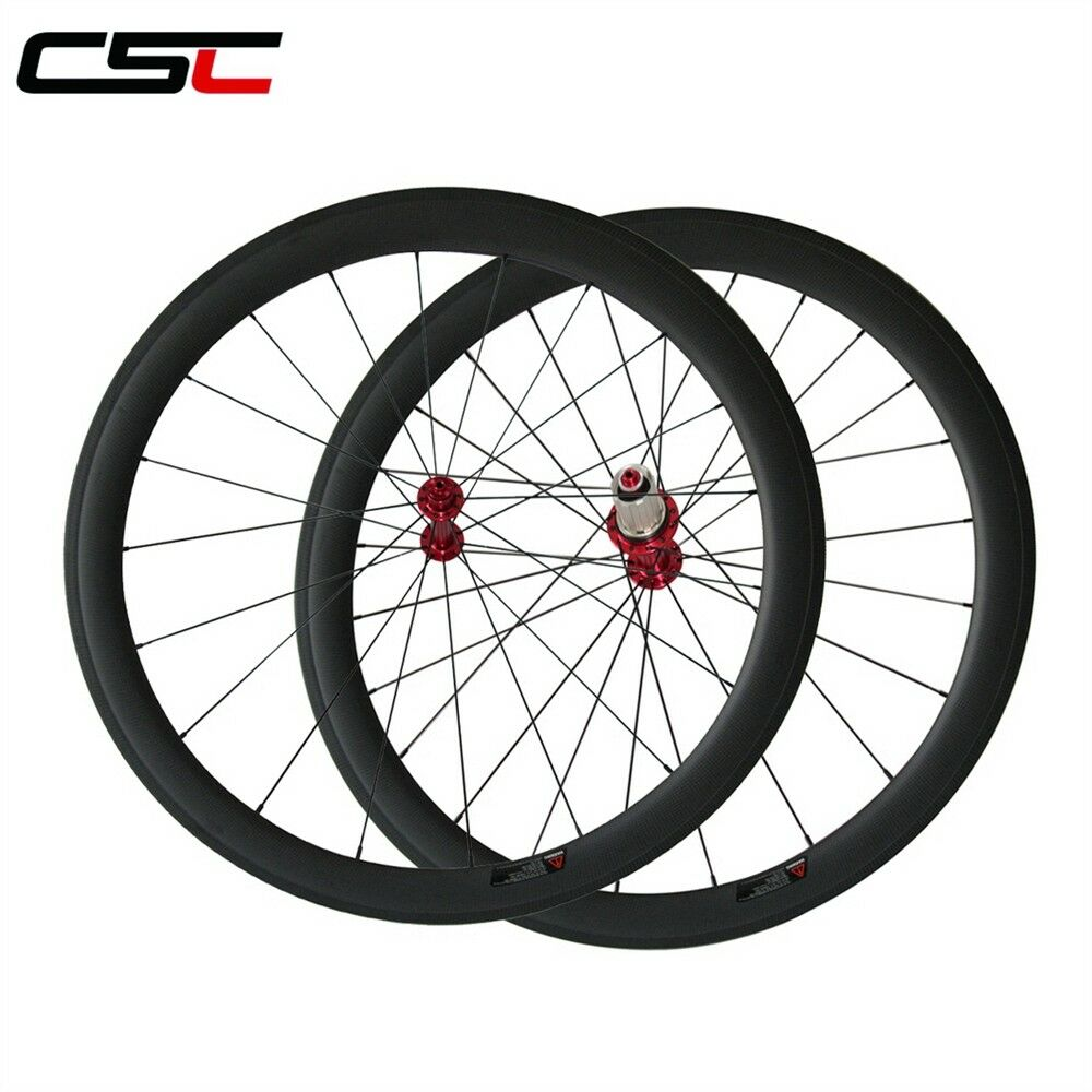 1500g only Ceramic  Bearing Hubs 50mm Clincher Carbon road bike wheels  100% price guarantee
