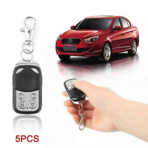 5x Universal Clonage Télécommande Key Fob pour Voiture Garage Door 433.92mhz KS