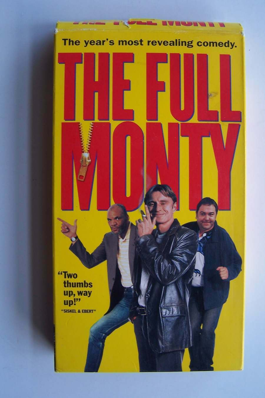 The Full Monty VHS Video Tape