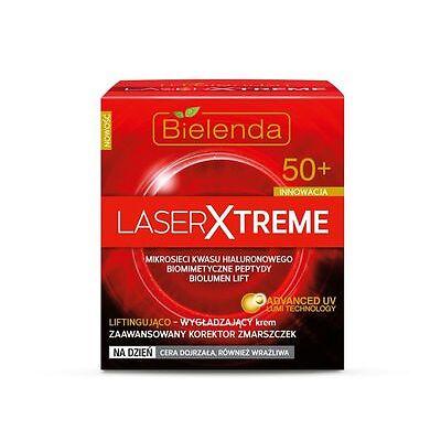 BIELENDA LASER EXTREME Antifalten Tagescreme mit Hyaluronsäure 50 + 50 ml