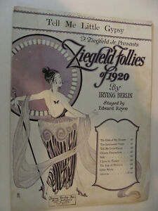 Playbills Entertainment Memorabilia Vintage Programme Theatre Folies Dramatiques 1920s