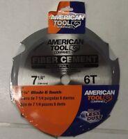 American Tool Irwin 25702at 7-1/4 X 6t Fiber Cement Saw Blade