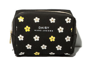Image Is Loading Marc Jacobs Daisy Black Makeup Cosmetics Bag Brand