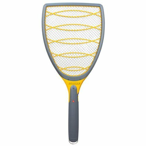3000 Volts Bug Zapper Racket To Kill Mosquitoes Spiders Wasps