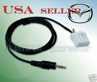 Mazda 3 Miata Rx-8 2006&up Headunit To Mp3 Player Portable Device Adapter Cable