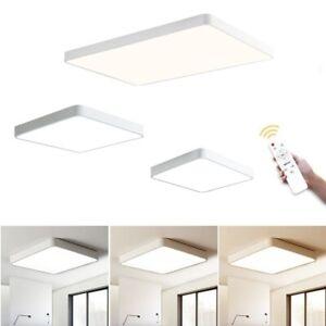 18W LED Deckenleuchte Deckenlampe Wohnzimmer Badleuchte Küche Flur Flurleuchte