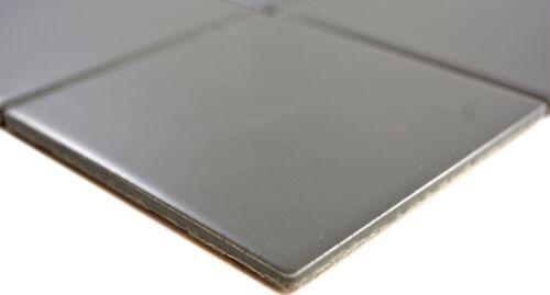 Mosaik Fliese Keramik metall matt Dusche Wand Küche Bad 23-2201/_f 10 Matten