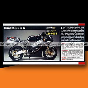 ★ Bimota Sb 8 R Sb8r ★ 2000 Article De Presse Présentation Moto #c1098 Rzjj4nnt-08001201-363256825