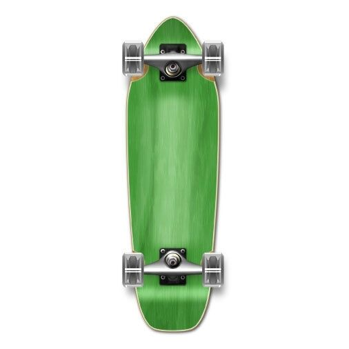 Yocaher Mini Cruiser Blank Complete - Stained Green