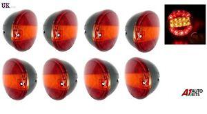 8-X-12v-LED-Recuperacion-Trasera-Lamparas-Luces-Remolque-Camion-Chasis-Punta