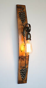 WALL-LIGHT-LAMP-RUSTIC-SCONCE-WINE-BARREL-FITTING-LANTERN-VINTAGE-LIGHT-RETRO