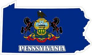 Pennsylvania-Map-Flag-Decals-Stickers