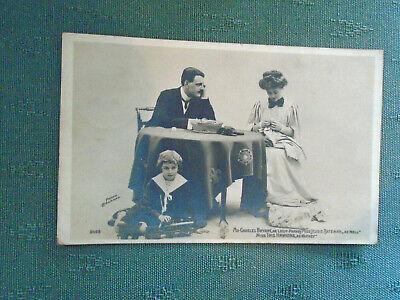 1905 Rp Postcard Charles Bryant Jessie Bateman Iris Hawkins Actor Actresses Ebay