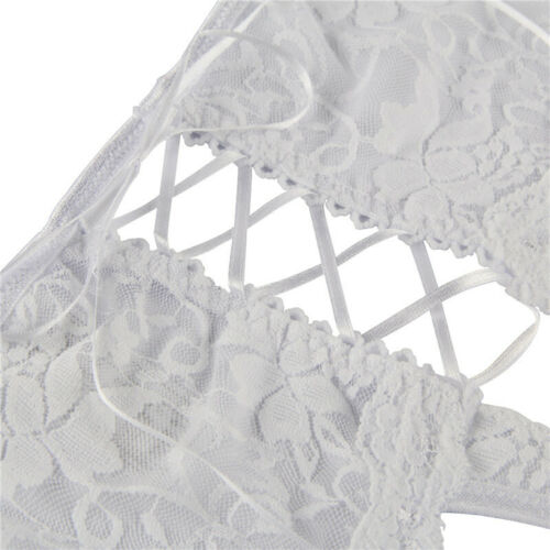 Crotchless Knickers for Women Lace Open Crotch Underwear Panties Briefs S-5XL