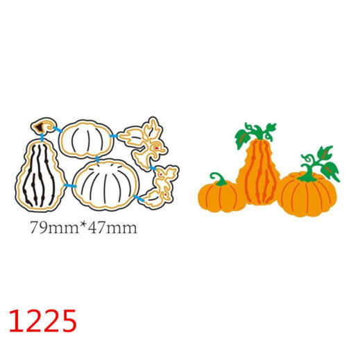 Halloween Witch Pumpkin For DIY Greeting Card Metal Embossing Cutting Dies HOT U