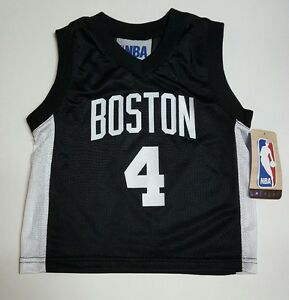 sale retailer a0e7f e765e Details about Boston Celtics NBA Toddler Isaiah Thomas #4 Black Replica  Jerseys/Shirts: 2T-4T