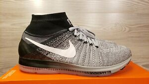 innovative design 179f4 b4ba2 Image is loading Nike-Zoom-All-Out-Flyknit-Oreo-Wolf-Grey-