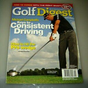 Septembre 2005 Golf Digest Revue - Michael Campbell Clés À Conduite