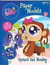 Littlest Pet Shop Spaniel and Monkey (Paper Models series) (Littlest Pet Shop Pa