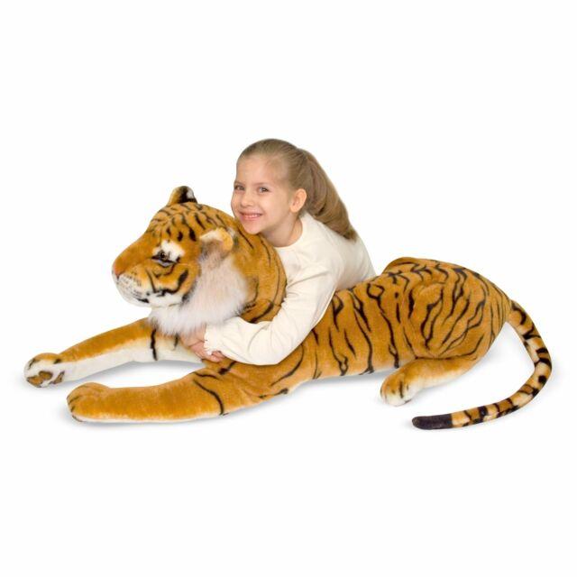 Plush Stuffed Animal 2103 for sale online Melissa /& Doug Tiger