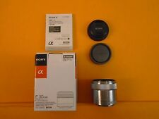 Sony SEL30M35 E-mount 30mm f/3.5 Macro Lens BOXED 072