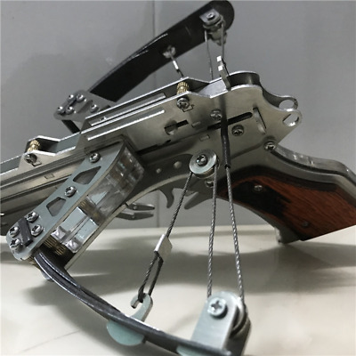 Toy Mini Crossbow Stainless Steel Rare Gifts With a bottle of 4 mm  Ammunition