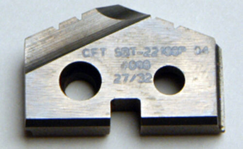E-2-6-2-FR9 27//32 SERIES 1 SPADE DRILL INSERT