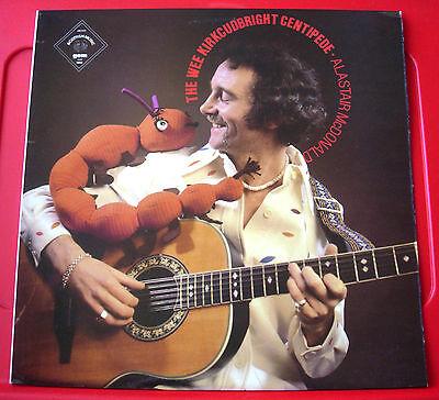 Alastair McDonald Wee Kircudbright Centipede LP UK ORIG 1979 Scottish Folk VINYL