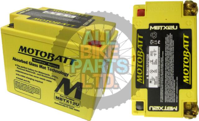 Honda ATC 250 SX  Motobatt Battery (1985-1987)