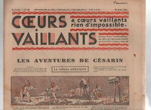 Cuori-Vaillants-1934-N-35-Tintin-Prochainement-Orient-Misterioso
