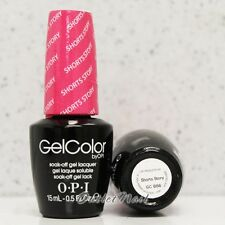 OPI GelColor Brights Collection GC B86 SHORTS STORY 15mL UV Gel Polish Hot Pink