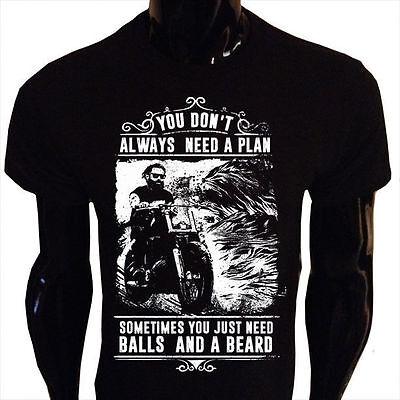 Sometimes You Just Need Bälle und eine Bart Tank Top Damen Lustig Biker BB4