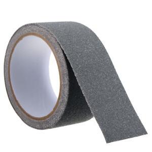 Strisce nastro pellicole adesive antiscivolo colore grigio silver 50mm x6/18mt