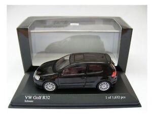 RARE-VW-GOLF-5-V-R32-3-2-V6-4-MOTION-BLACK-SCHWARZ-1-43-MINICHAMPS-400054501