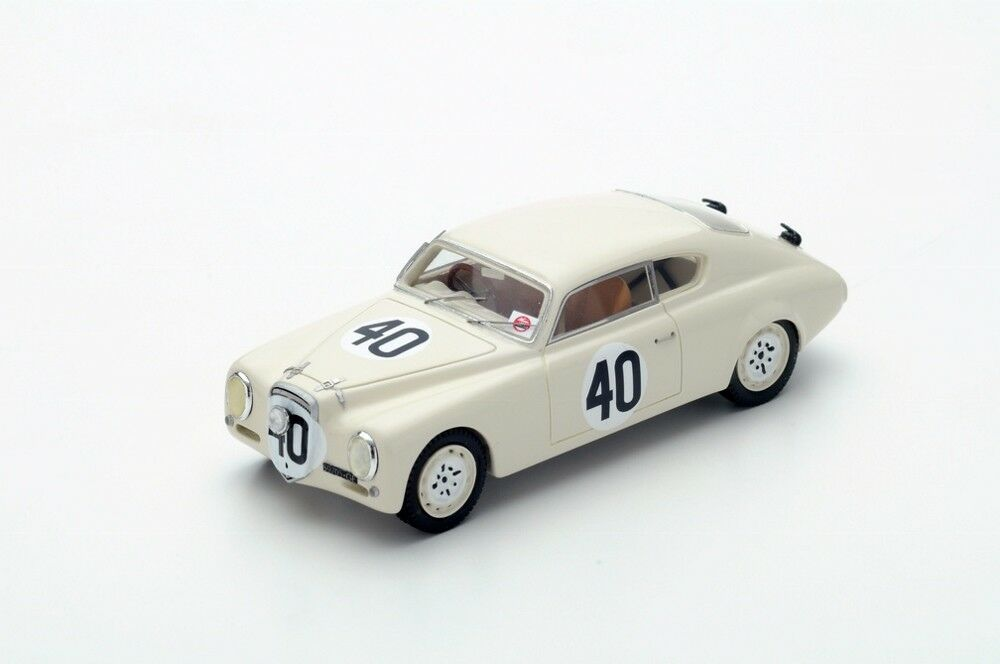 Aurelia B20 n.40 8th Le Mans 1952  Resin Model Car in 1 43 Scale by Spark