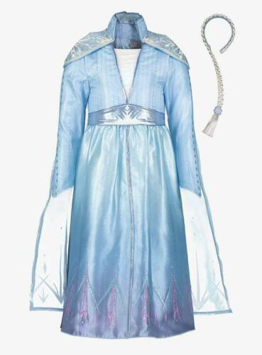 Disney Frozen 2 ELSA Bleu Déguisement Officiel BNWT