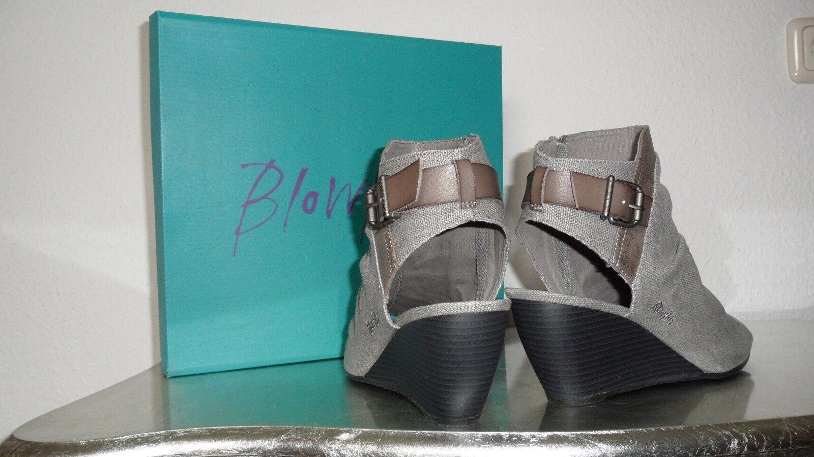 Blowfish Bestie Wedge Sandal RANCHER Damen, Größe 45, STGRY RANCHER Sandal / PEWR ASTEROIDIST 3917c8