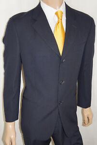 34a367da0 40S Hugo Boss Einstein Suit Men 40 S - Navy Barneys New York 34W w ...