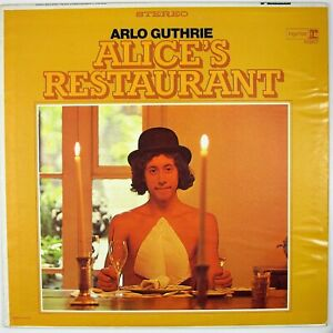 ARLO-GUTHRIE-Alice-039-s-Restaurant-LP-1967-FOLK-ROCK-NM-NM