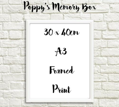 Personalised Engagement Map Gift Print Wedding Couple Anniversary Love