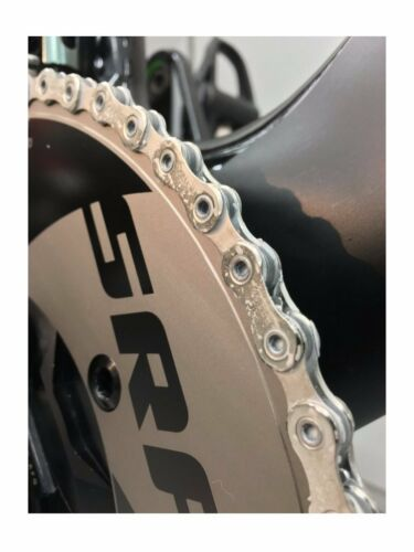 Wend Factory Waxed  x Shimano Dura Ace XTR HG901-11 11Speed Bicycle Chain
