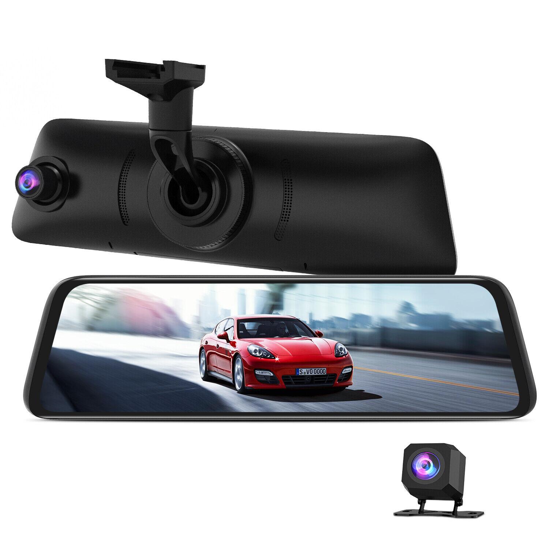 AUTO-VOX V5PRO OEM Rear View Mirror Dash Cam Front & Rear 1080P Sony Sensor GPS 1080p cam dash Featured front mirror oem rear sony v5pro view