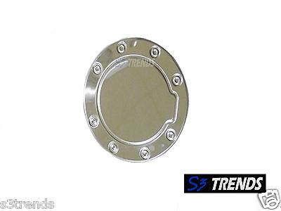 99-06 Sierra Silverado 00-06 Tahoe Yukon Stainless Steel Gas Fuel Door Cover