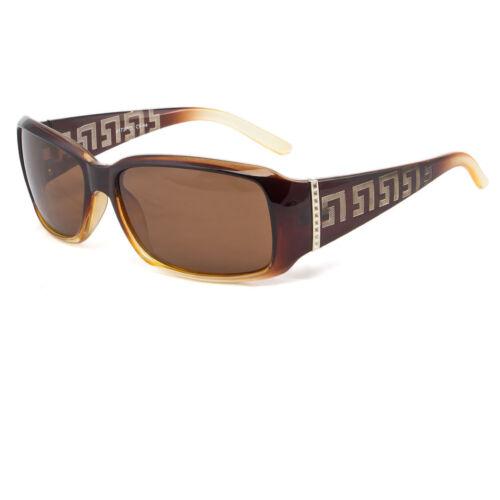 Polarized Retro Vintage Womens Designer Sunglasses Shades Fashion  Black Brown