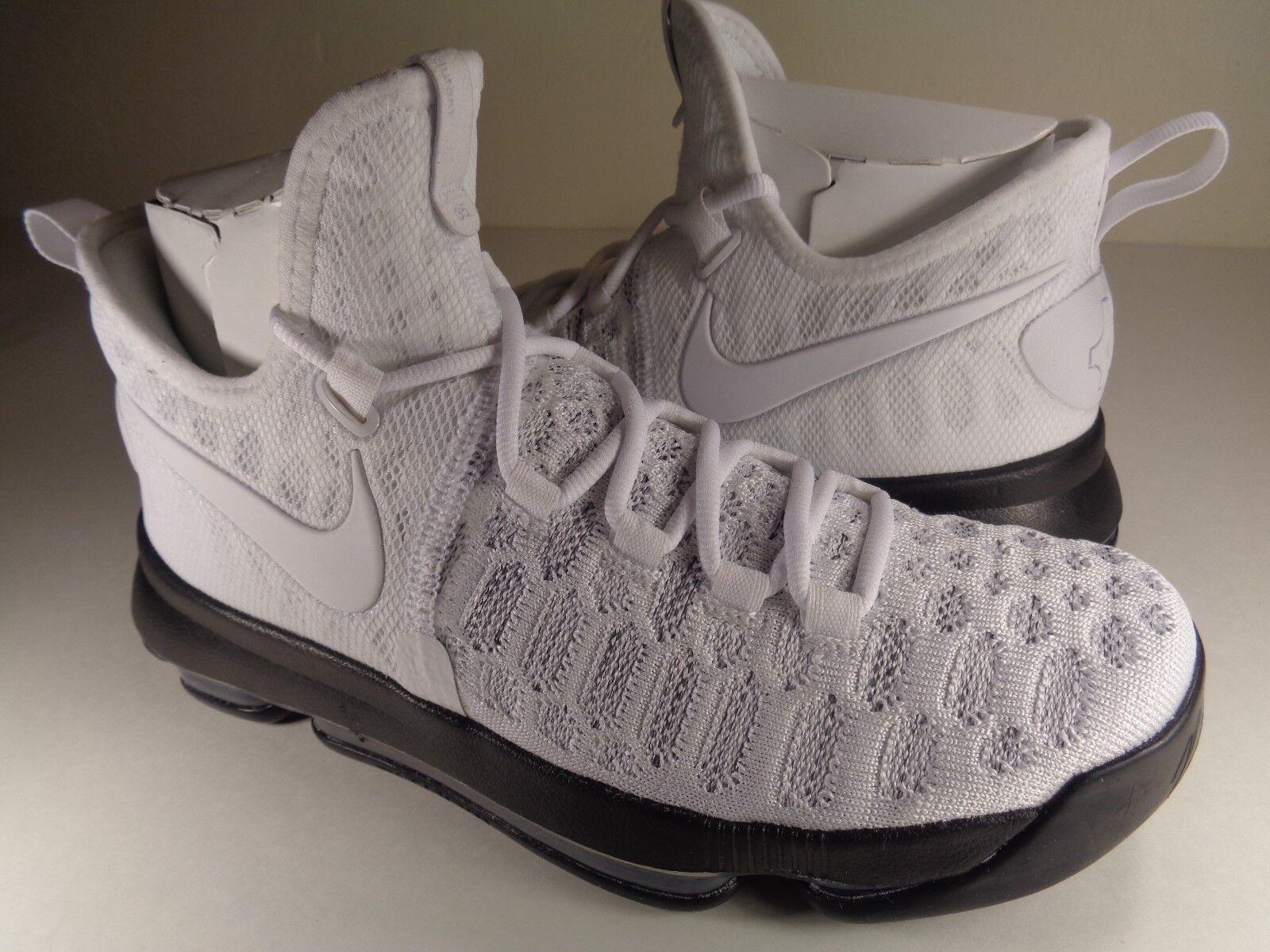 Nike Zoom KD 9 iD White Black SZ 7 // Womens 8.5 (863695-992)