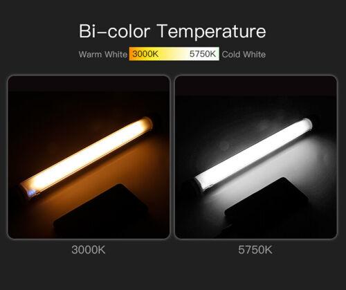 LUXCEO P7 RGB Waterproof Handheld RGB LED Video Photography Light 3000//5750K UK